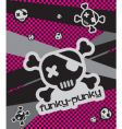 funky-punkie illustration vector image vector image