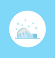 igloo icon sign symbol vector image