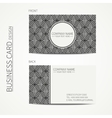 Vintage creative simple monochrome business card