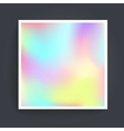 Abstract background holographic vector image vector image