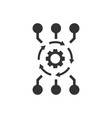 algorithm api software icon in flat style