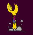 cartoon zombie hand clip art vector image