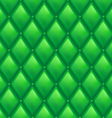 Green Leather Background vector image vector image