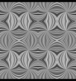 grey seamless abstract hypnotic spiral burst vector image