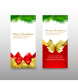 013 Christmas card template eps10 vector image vector image