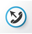 call icon symbol premium quality isolated vector image vector image