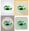 electric repair tools flat icons 14 vector image vector image