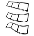 filmstrips for photography concept eps10 vector image vector image