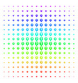 help balloon icon halftone spectral grid vector image