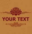 kalamakara text decoration vector image