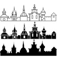 Medieval sity vector image vector image