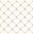 seamless geometric pattern with teeth and vector image vector image