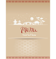 Template design of asian menu vector | Price: 1 Credit (USD $1)