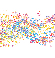 Abstract Dynamic Background Array Particles vector image