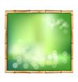 abstract spa or beach bamboo tropical backdrop vector image