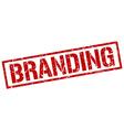 branding stamp vector image vector image
