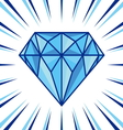 Diamond shine vector image