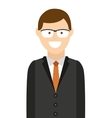 man male avatar young icon vector image vector image