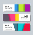 modern halftone abstract design web banner vector image vector image