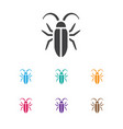 of animal symbol on insect vector image vector image