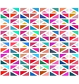 Seamless Colorful Geometric Blocks vector image vector image