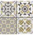 set of ornaments for ceramic tile vector image