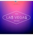 World Cities labels - Las Vegas vector image