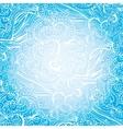 abstract swirl ethnic pattern backgroundoutline vector image vector image