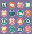 Application icons vector image vector image