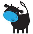 Funny cow vector image vector image