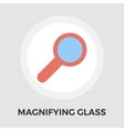Search single flat icon vector image vector image