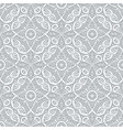 swirly seamless pattern in grey color vector image vector image