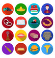tourism leisure business and other web icon in vector image vector image