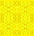 yellow abstract psychedelic seamless striped vector image vector image