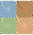 abstract background of star burst eps 10 vector image vector image