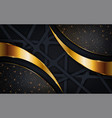 abstract navy background with random lines shape vector image vector image