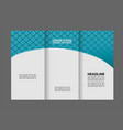 brochure design template abstract background for vector image