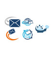 e-mail marketing app vector image vector image