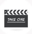 Movie clap icon