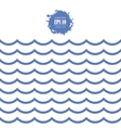 seamless sea wave vector image