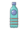 water bottle icon cartoon style vector image vector image