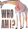 who am i vector image vector image