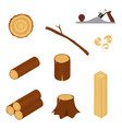 wood industry vector image