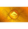 airswap ast cryptocurrency token symbol defi vector image vector image