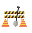 construction equipment icons vector image