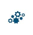 gear icon template vector image