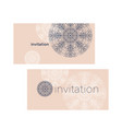 laconic luxury snowflake greeting card vector image