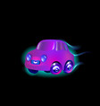 most top-end toy car purple color in style vector image vector image