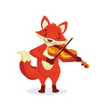 Musical animals vector image vector image