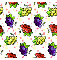 natural organic seamless pattern vector image